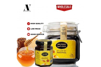 Asia Forest 100% Natural Honey + 250gm FREE