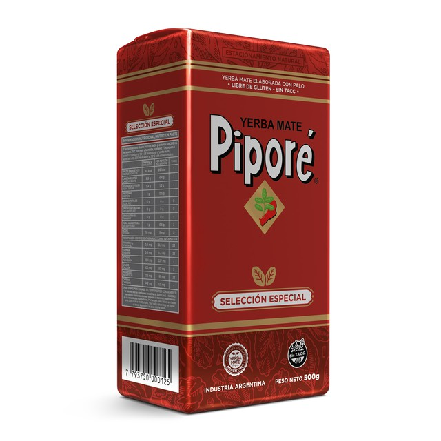 PIPORE YERBA MATE SPECIAL SELECTION GRINDING TEA 500g